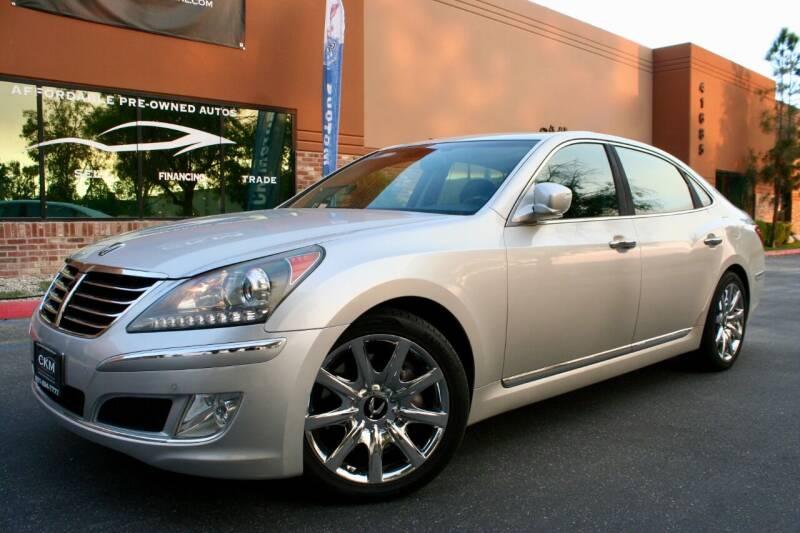 2013 Hyundai Equus for sale at CK Motors in Murrieta CA