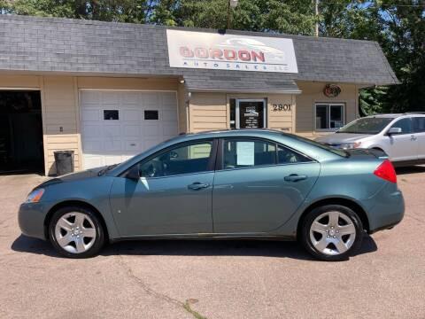 2009 Pontiac G6 for sale at Gordon Auto Sales LLC in Sioux City IA