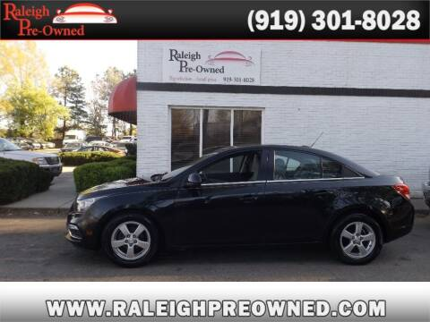 2016 Chevrolet Cruze Limited for sale at Raleigh Pre-Owned in Raleigh NC