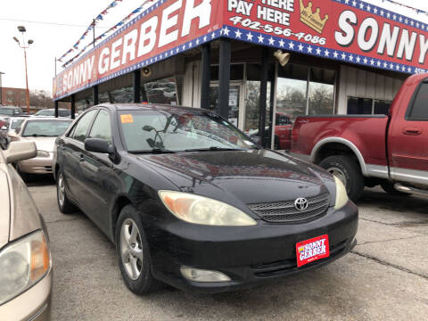 2004 Toyota Camry for sale at Sonny Gerber Auto Sales in Omaha NE