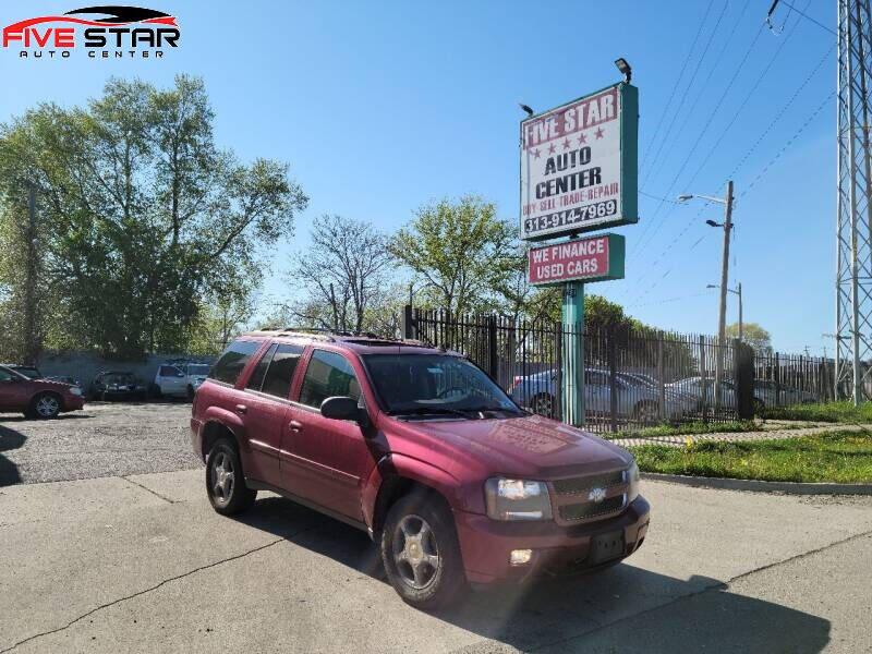 2008 Chevrolet TrailBlazer for sale at Five Star Auto Center in Detroit MI