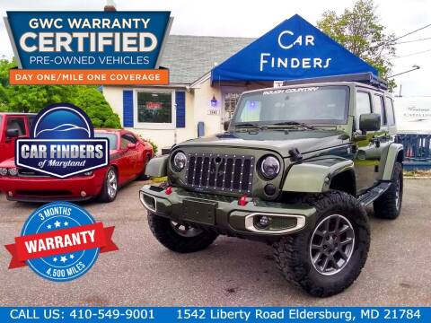 2008 Jeep Wrangler Unlimited for sale at CAR FINDERS OF MARYLAND LLC - Classics in Eldersburg MD