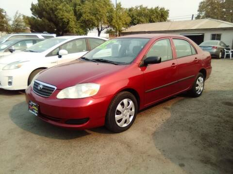 2007 Toyota Corolla for sale at Larry's Auto Sales Inc. in Fresno CA
