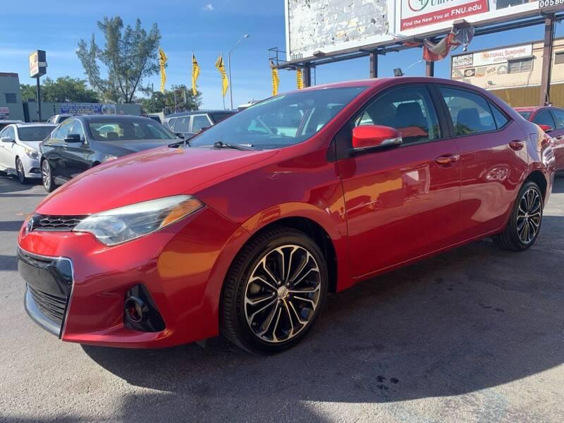 2014 Toyota Corolla for sale at AUTO ALLIANCE LLC in Miami FL