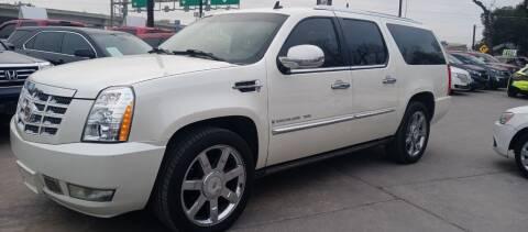 2008 Cadillac Escalade ESV for sale at AUTOTEX FINANCIAL in San Antonio TX