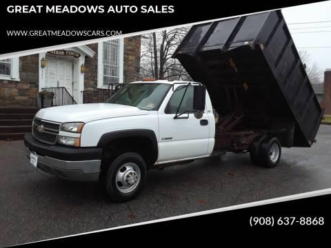 2005 Chevrolet Silverado 3500 for sale at GREAT MEADOWS AUTO SALES in Great Meadows NJ
