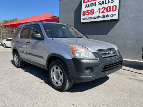 2005 Honda CR-V for sale at Legend Auto Sales in El Paso TX
