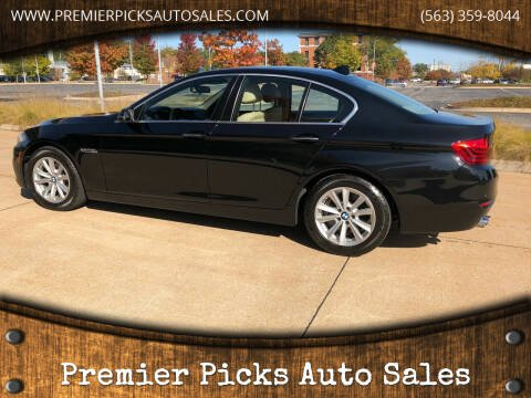 2014 BMW 5 Series for sale at Premier Picks Auto Sales in Bettendorf IA