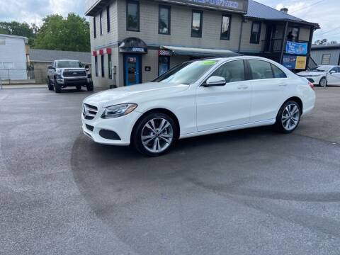 2018 Mercedes-Benz C-Class for sale at Sisson Pre-Owned in Uniontown PA