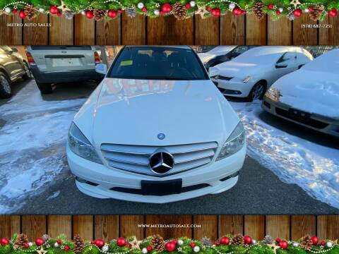 2009 Mercedes-Benz C-Class for sale at Metro Auto Sales in Lawrence MA