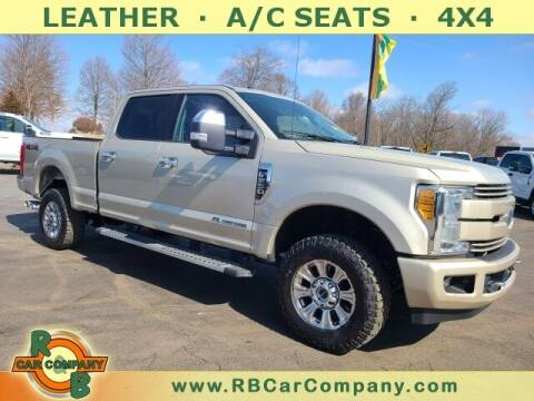 2017 Ford F-250 Super Duty for sale at R & B CAR CO - R&B CAR COMPANY in Columbia City IN