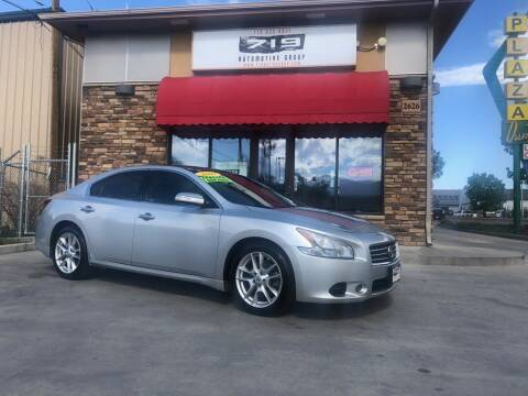 2009 Nissan Maxima for sale at 719 Automotive Group in Colorado Springs CO