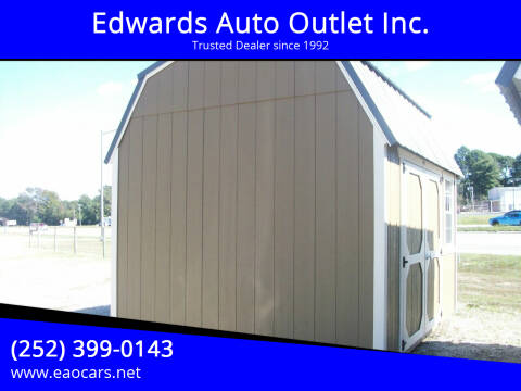 2020 Old Hickory Buildings 10x12 Lofted Barn for sale at Edwards Auto Outlet Inc. in Wilson NC