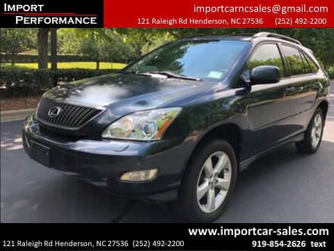 2004 Lexus RX 330 for sale at Import Performance Sales - Henderson in Henderson NC