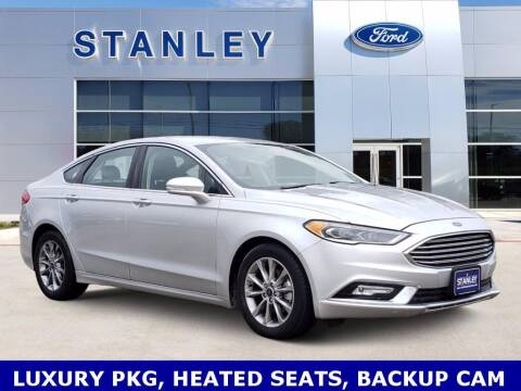 2017 Ford Fusion for sale at Stanley Ford Gilmer in Gilmer TX