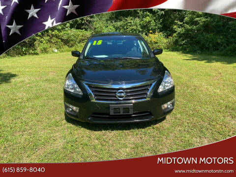 2015 Nissan Altima for sale at Midtown Motors in Greenbrier TN