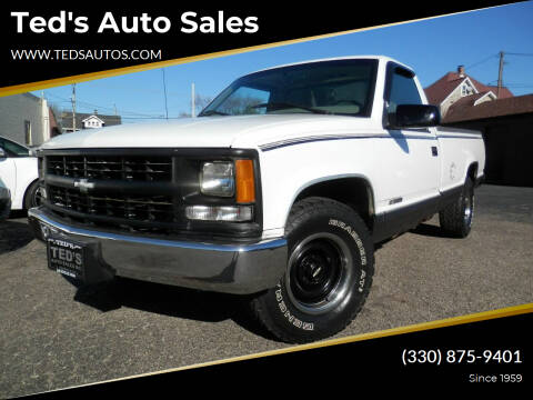 1996 Chevrolet C/K 1500 Series for sale at Ted's Auto Sales in Louisville OH