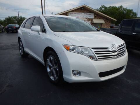 2010 Toyota Venza for sale at Browning's Reliable Cars & Trucks in Wichita Falls TX