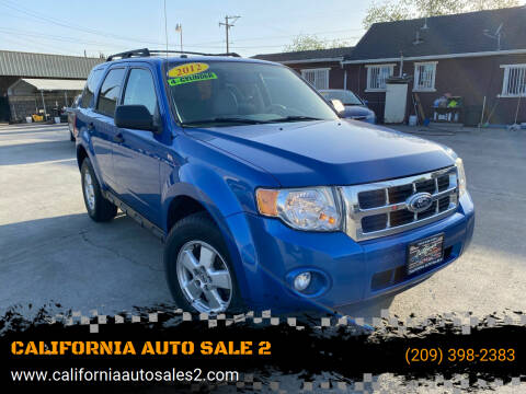 2012 Ford Escape for sale at CALIFORNIA AUTO SALE 2 in Livingston CA
