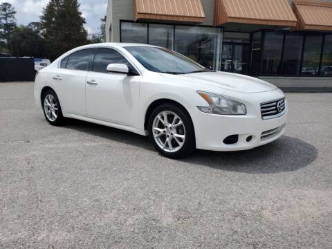 2014 Nissan Maxima for sale at Ron's Used Cars in Sumter SC