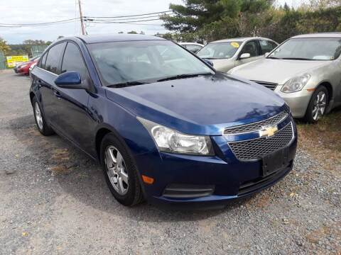 2012 Chevrolet Cruze for sale at M & M Auto Brokers in Chantilly VA
