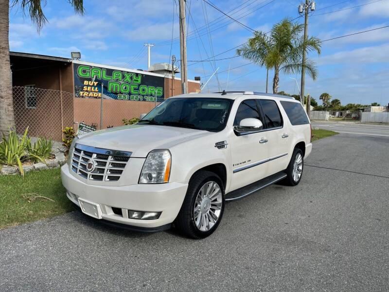 2009 Cadillac Escalade for sale at Galaxy Motors Inc in Melbourne FL