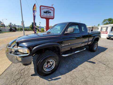 1998 Dodge Ram Pickup 1500 for sale at Ford's Auto Sales in Kingsport TN