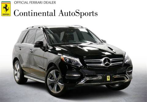 2017 Mercedes-Benz GLE for sale at CONTINENTAL AUTO SPORTS in Hinsdale IL