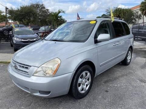 2009 Kia Sedona for sale at EZ Own Car Sales of Miami in Miami FL