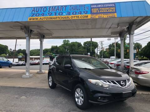 2011 Nissan Murano for sale at Auto Smart Charlotte in Charlotte NC
