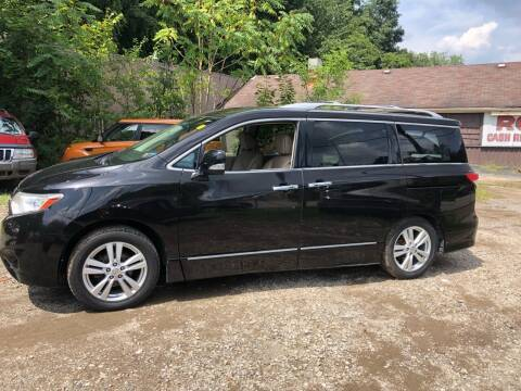 2011 Nissan Quest for sale at Compact Cars of Pittsburgh in Pittsburgh PA