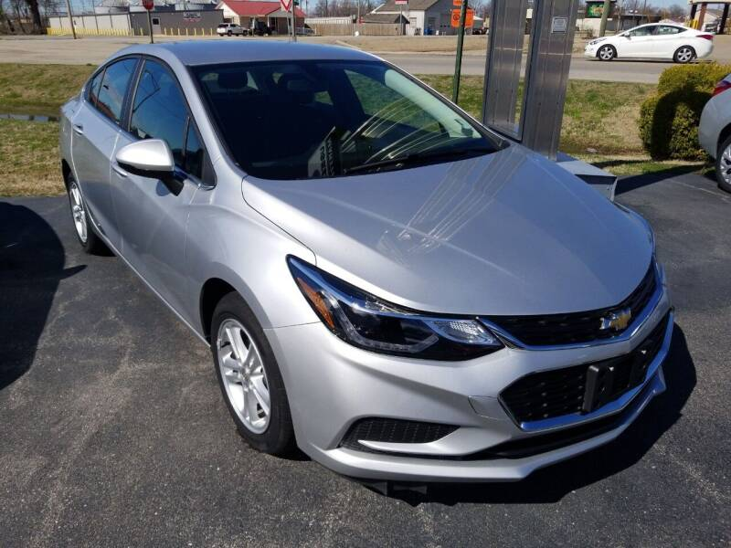 2017 Chevrolet Cruze for sale at MARTINDALE CHEVROLET in New Madrid MO