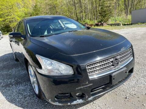 2010 Nissan Maxima for sale at Ron Motor Inc. in Wantage NJ