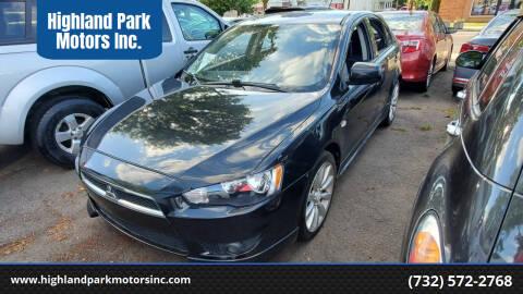 2010 Mitsubishi Lancer Sportback for sale at Highland Park Motors Inc. in Highland Park NJ
