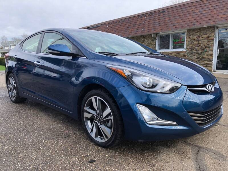2016 Hyundai Elantra for sale at Approved Motors in Dillonvale OH