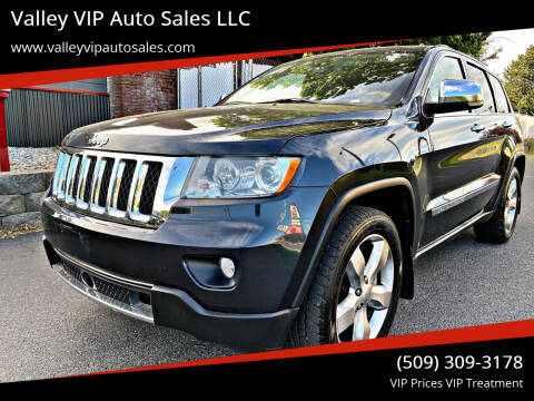 2012 Jeep Grand Cherokee for sale at Valley VIP Auto Sales LLC in Spokane Valley WA
