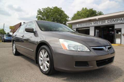 2007 Honda Accord for sale at Precision Motor Company LLC in Cincinnati OH