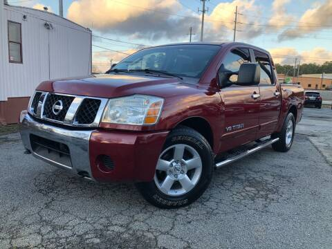 2007 Nissan Titan for sale at Atlas Auto Sales in Smyrna GA