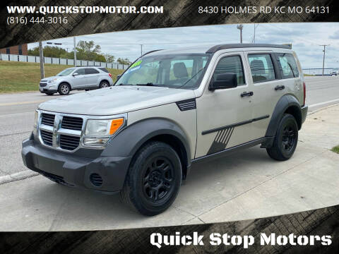 2008 Dodge Nitro for sale at Quick Stop Motors in Kansas City MO