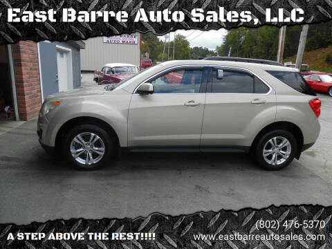 2010 Chevrolet Equinox for sale at East Barre Auto Sales, LLC in East Barre VT