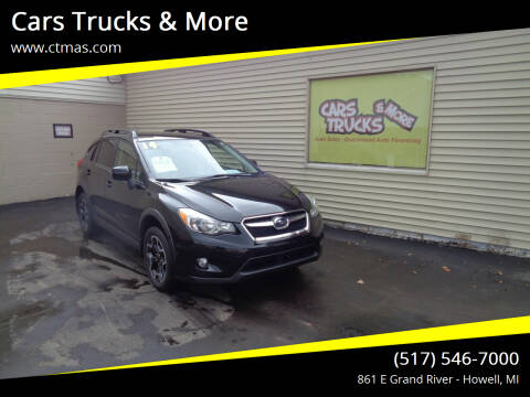 2014 Subaru XV Crosstrek for sale at Cars Trucks & More in Howell MI