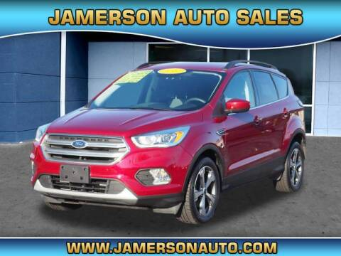 2017 Ford Escape for sale at Jamerson Auto Sales in Anderson IN