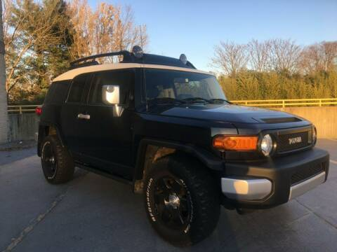 2007 Toyota FJ Cruiser for sale at Limitless Garage Inc. in Rockville MD