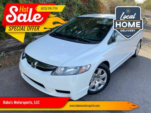 2010 Honda Civic for sale at Baba's Motorsports, LLC in Phoenix AZ
