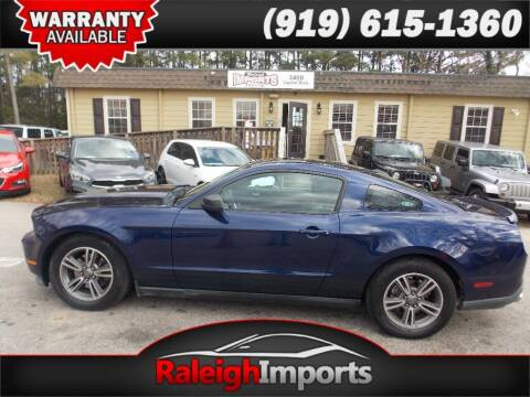 2012 Ford Mustang for sale at Raleigh Imports in Raleigh NC