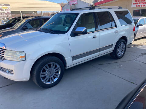 2007 Lincoln Navigator for sale at CONTINENTAL AUTO EXCHANGE in Lemoore CA