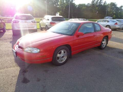1998 Chevrolet Monte Carlo for sale at COUNTRYSIDE AUTO INC in Austin MN