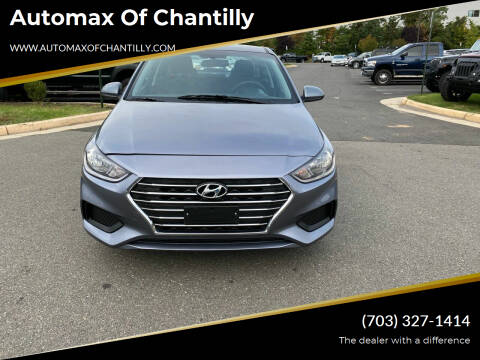2020 Hyundai Accent for sale at Automax of Chantilly in Chantilly VA