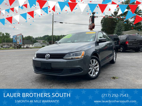 2011 Volkswagen Jetta for sale at LAUER BROTHERS SOUTH in York PA