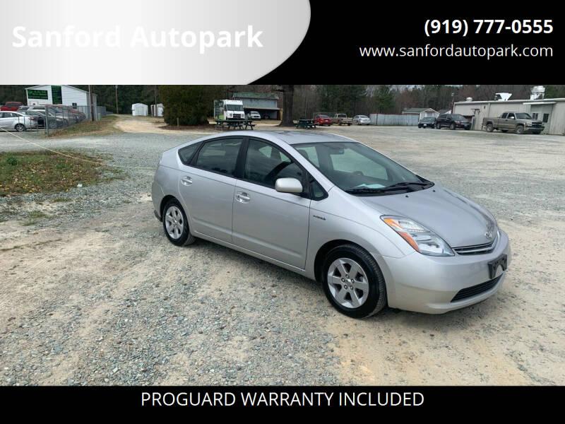 2007 Toyota Prius for sale at Sanford Autopark in Sanford NC